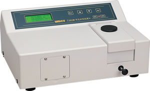 WFJ 7202B型可见分光光度计
