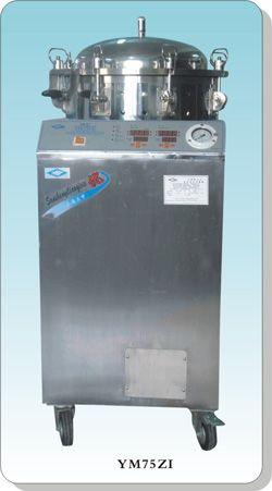 不锈钢立式电热压力蒸汽灭菌器YM75ZI智能型