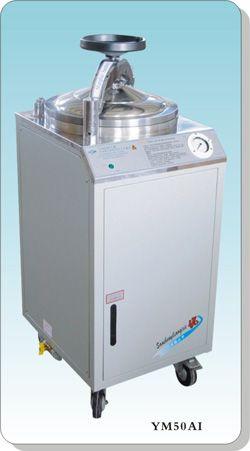 不锈钢立式电热压力蒸汽灭菌器YM50AI人控型