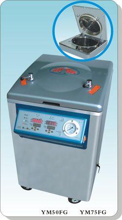 不锈钢多功能立式电热压力蒸汽灭菌器YM50FG/YM75FG 干燥型