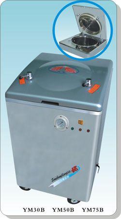不锈钢立式电热压力蒸汽灭菌器YM30B/YM50B/YM75B自动控水型